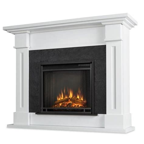electric fireplace real real kipling electric fireplace white 6030e w
