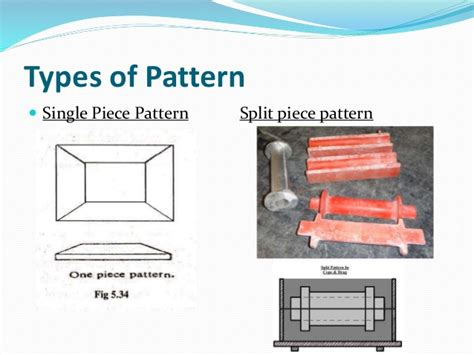 segmental pattern in casting video unit 1 manufacturing technology i metal casting process