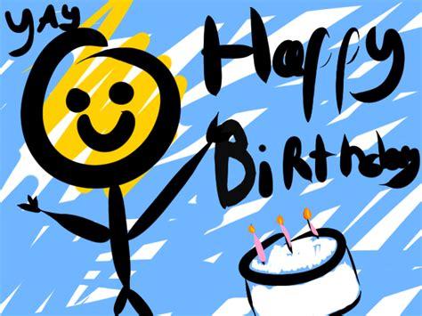 imagenes de happy birthday oscar mu 241 eco dibujado te desea un happy birthday ツ imagenes