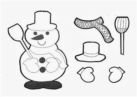 imagenes de navidad para colorear y armar ba 218 l de navidad mu 241 ecos de nieve infantiles para colorear