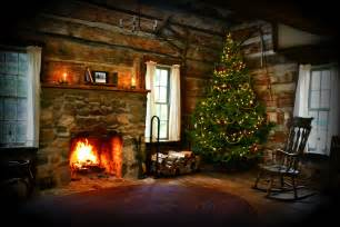 Inside Homes Decorated For Christmas Christmas Cabin At Hidden Hollows Interior This Is A