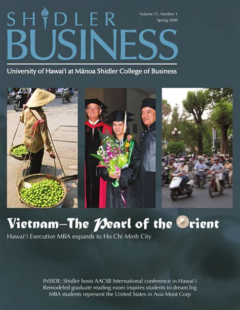 How Many Semesters In Mba Lums by Shidler Business 2008 By Sakata Issuu