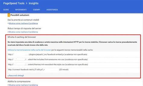 test velocita sito come velocizzare web seo