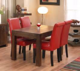 Small Leather Desk Chair Design Ideas Dining Room Rustic Accented Dining Set Design With Leather Upholstered Chairs Set