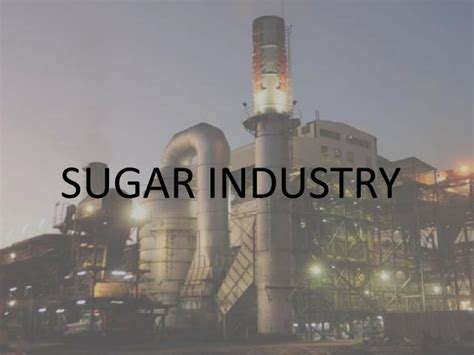 limited production in industry revival of local sugar industry could be moving a step closer