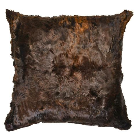 Alpaca Fur Pillows by Roberta Brown Peruvian Alpaca Fur Pillow 20x20 Kathy
