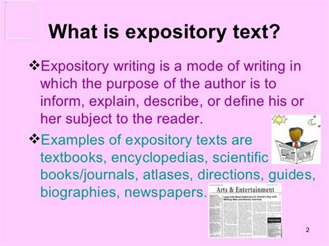 What Is Literature Essay by Expository Texts