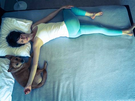 bed yoga 6 yoga poses you can do in bed before sleeping for better