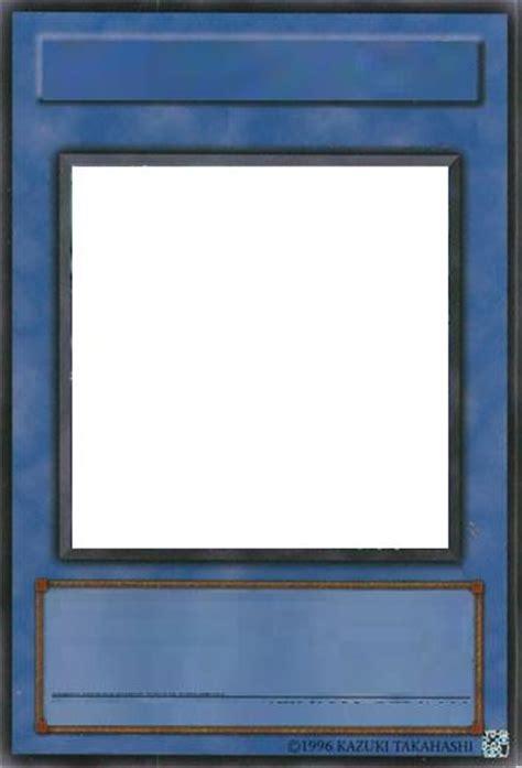 yugioh card template card blanks