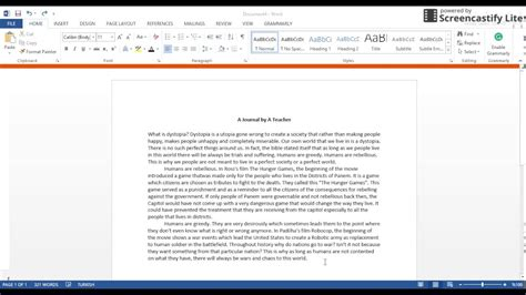 Dauble Spacy justify and space text in word