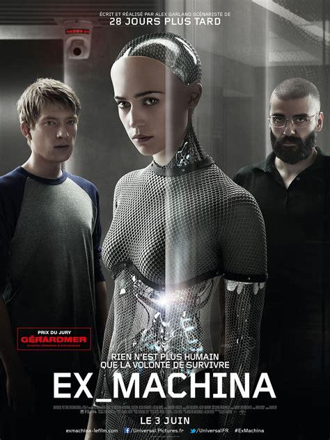 film china ex l intelligence pas artificielle de ex machina le film