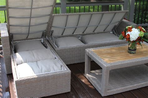 outdoor sofa with storage outdoor sectional sofa with storage catosfera