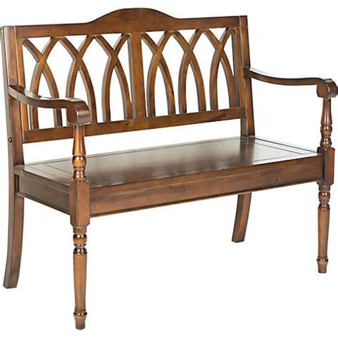 wide benches leamington walnut wood 40 quot wide bench 4k449 ls plus