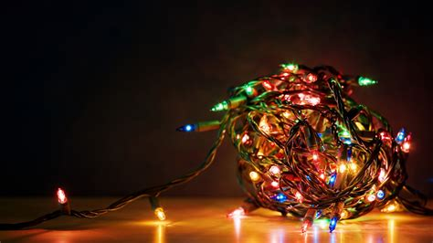 home how can i store my christmas lights so that they