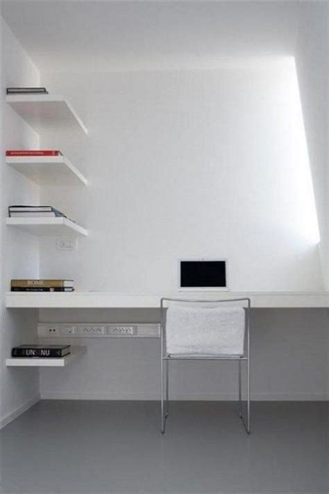minimalist workspace 47 adorable minimalist home offices comfydwelling com