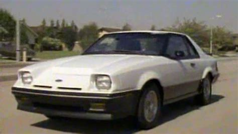 Ford Exp by 187 1985 Ford Exp Manufacturer Promo