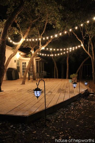 Patio Deck Lights Add Outdoor Mood Lighting For A Big Impact