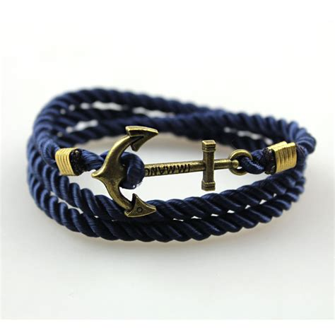 Handmade Mens Leather Bracelets - new s rope wristband bracelet handmade multilayer
