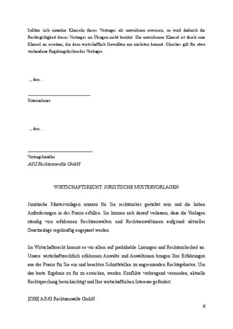 Rechnung Gesetz Schweiz Alleinvertriebsvertrag Vorlage Vom Anwalt Zum