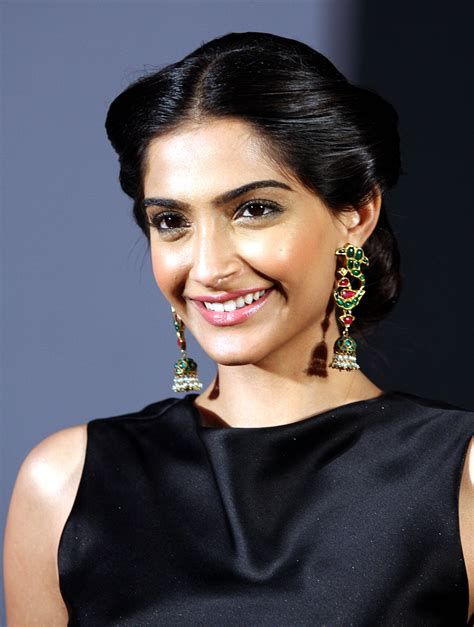 older actresses with hair in bun sonam kapoor hairstyles indian beauty tips