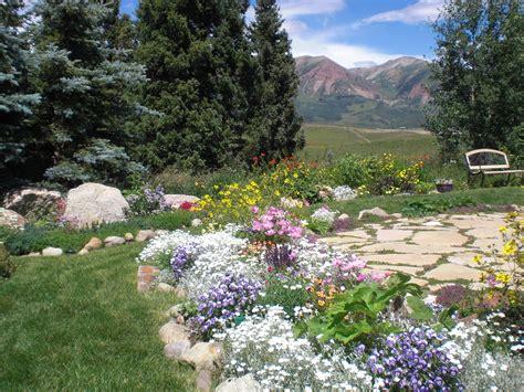 Garden Of On A Mountain Home Mountain Wedding Garden