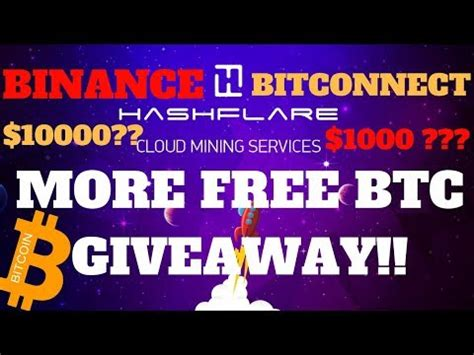 bitconnect giveaway hash flare thecryptodb