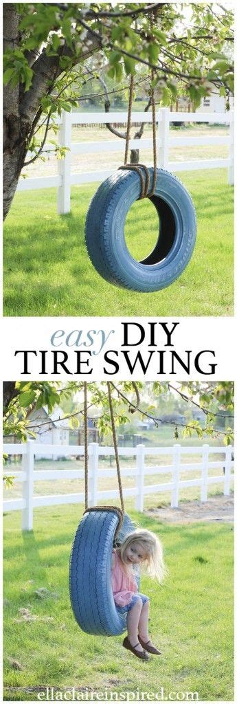 how to make a tire swing without a tree 25 best ideas about tire swings on pinterest diy tire