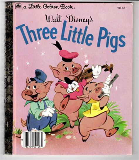 value of walt disney golden books vintage walt disney s a golden book of three pigs