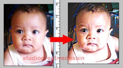tutorial edit foto dengan photoshop cs2 cara mempertajam foto buram dan memperjelas gambar foto