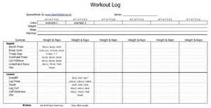 fitness program template free daily printable fitness workout log template exceltimes