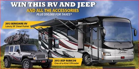 Rv Sweepstakes - dream sweepstakes giveaway rv autos post