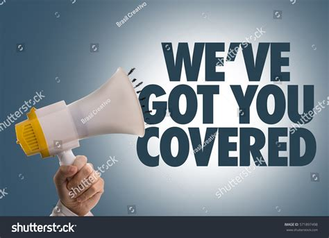 weve   covered stock photo  shutterstock