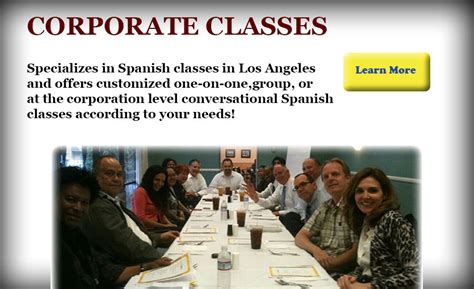 comfortable in spanish spanish classes in los angeles spanish tutor corporate