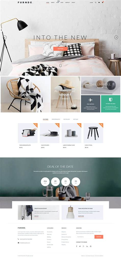 pinterest layout wordpress furnde responsive ecommerce wordpress theme wordpress