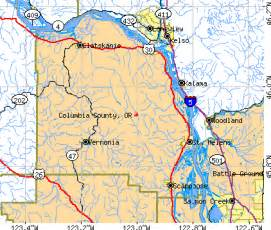 columbia county oregon detailed profile houses real