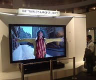 Image result for largest lcd tv screen. Size: 193 x 160. Source: www.techradar.com