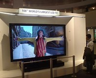 Image result for Largest LCD TV screen