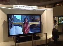Image result for Largest LCD TV screen. Size: 216 x 160. Source: www.techradar.com