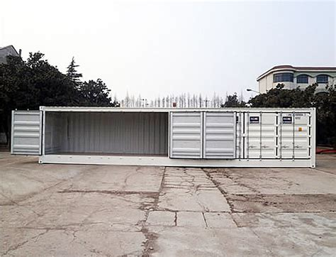 40 Open Side Shipping Container Price by Images 40 Open Side Doors
