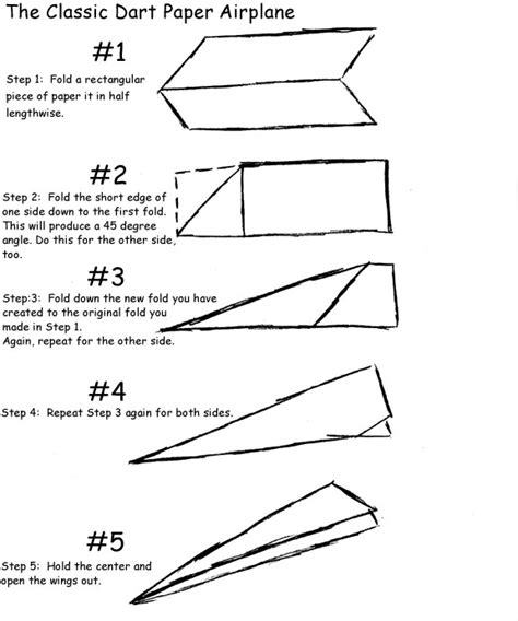 How To Fold A Paper Air Plane - paper airplanes
