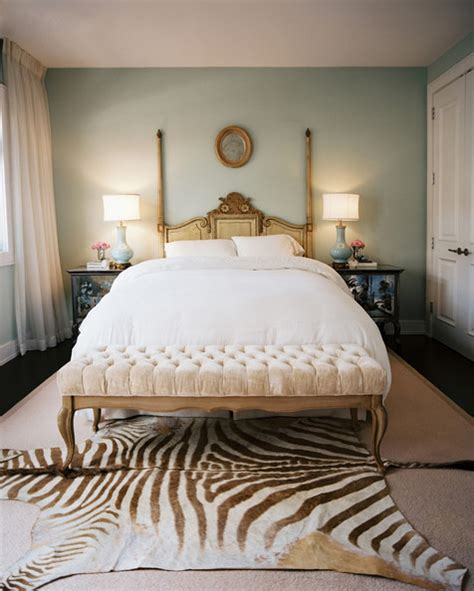 zebra bedrooms zebra hide rug 18 romantic bedroom ideas lonny