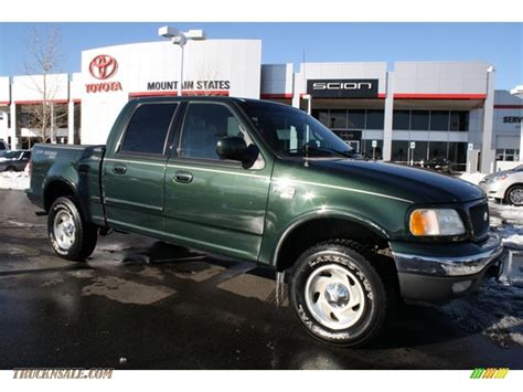 2001 ford f150 supercrew towing capacity 2001 ford f 150 green 200 interior and exterior images