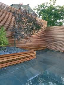 Outdoor Timber Seating Benches Modern Garden Design London Garden Blog