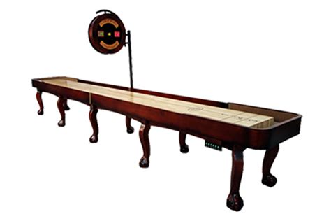 14 foot edmore shuffleboard table mcclure tables