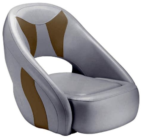 attwood boat chairs attwood avenir sport full upholstered seat grey tan