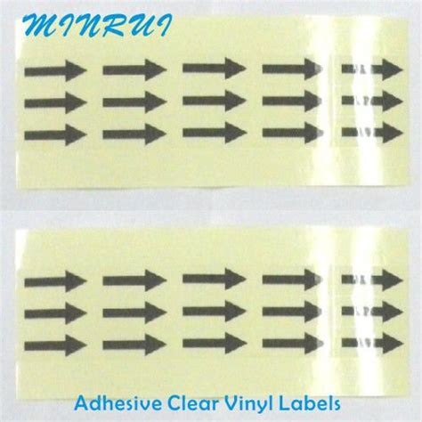 printable vinyl clear custom clear vinyl stickers clear printed labels printable