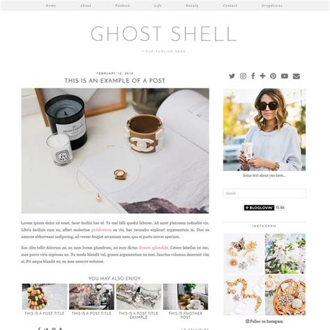 ghost templates for blogger 53 best wordpress themes by pipdig images on pinterest