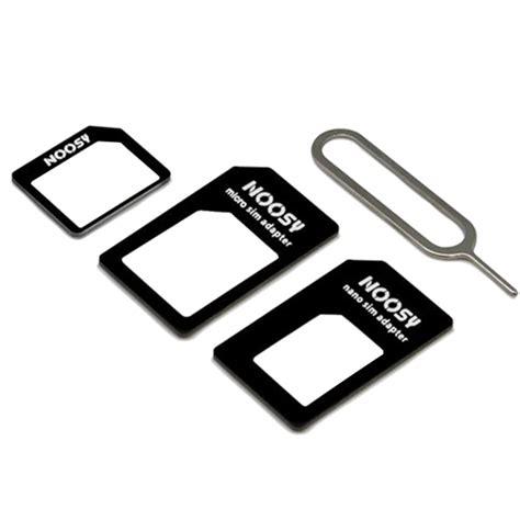 Nossy Nano Sim Card Adapter 3in1 Standard Micro Nano 3 In 1 Nsy04 noosy nano micro and standard sim card adapter hypermart