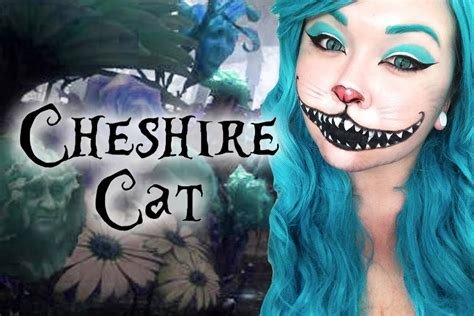 Cheshire Cat Blue cheshire cat makeup tutorial torimichellemua