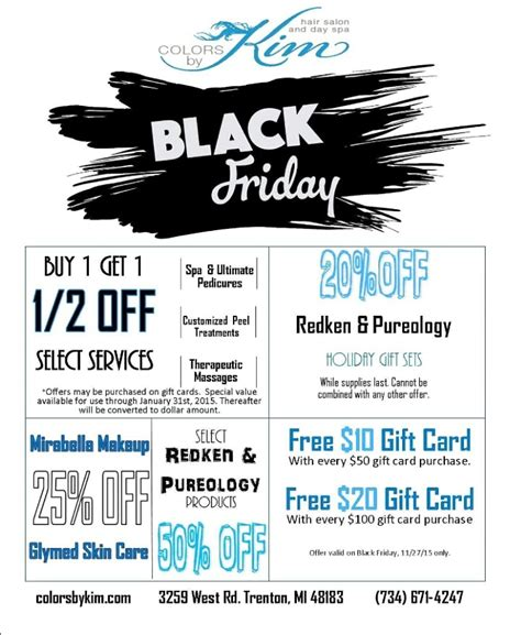 2015 black friday hair black friday specials colors by kim